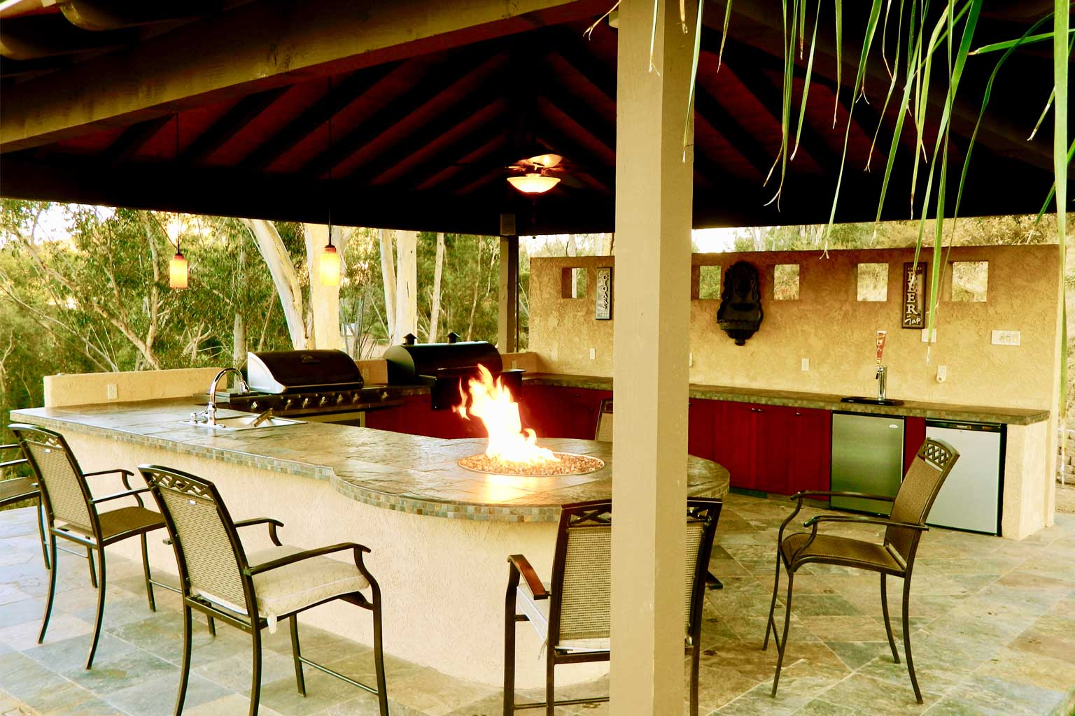 Outdoor Kitchen In Poway
