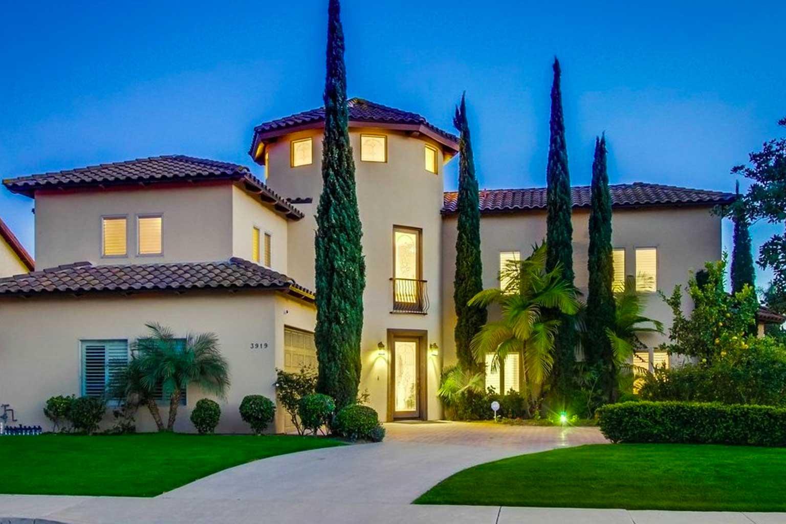 Rancho Sante Fe Custom Mediterranean  Design