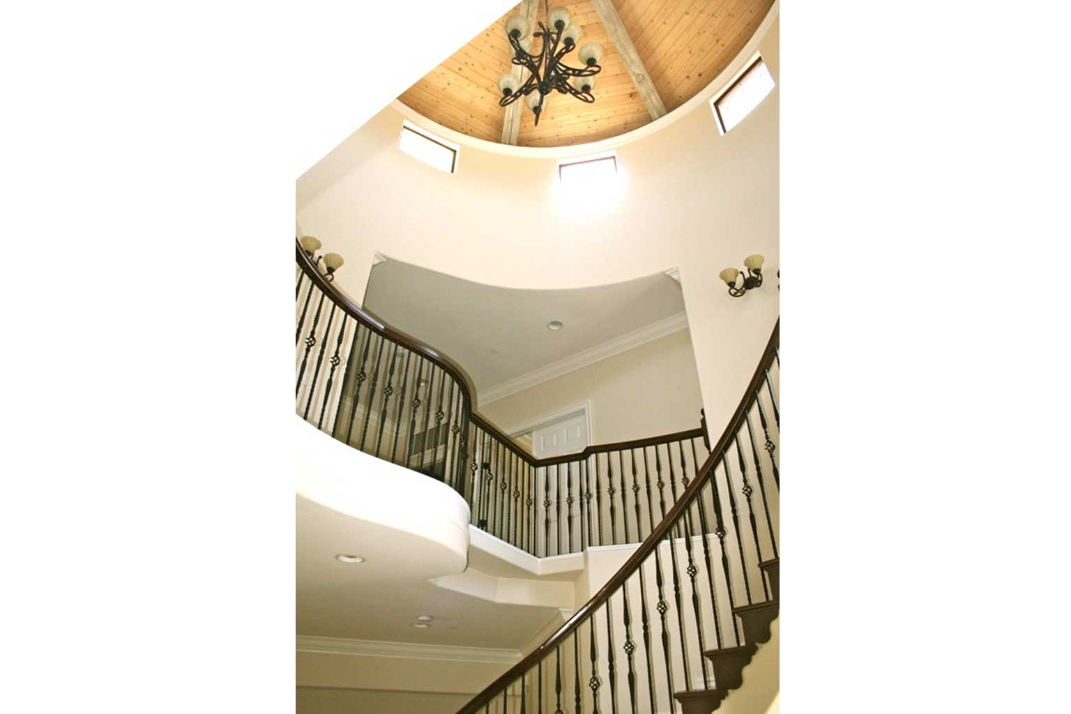 Staircase Custom Home 4S Ranch