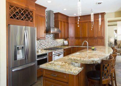 Appliance Garage Full Height Backsplash Kitchen Renovation
