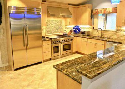 Contemporary Maple Kitchen Remodel