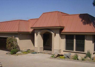 Copper Roof Custom Home