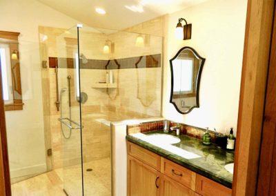 Frameless Shower Bathroom Renovation