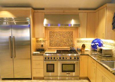 Mosaic Tile Kitchen Renovation