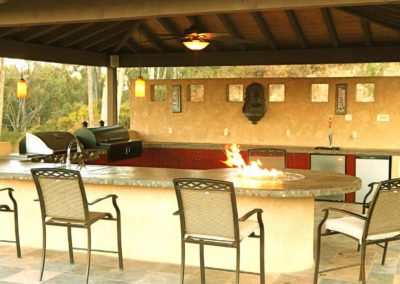 Outdoor Living Fire pit House renevation