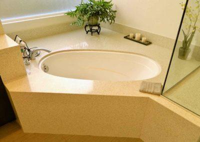 Under-mount Tub Bathroom Renovation
