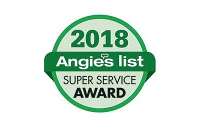 Regal Concepts and Designs Earns 2018 Angie's List Super Service Award