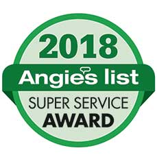 The 2018 Angie's List Super Service Award Goes to Regal Concepts and Designs!